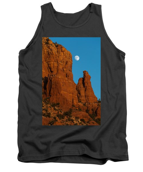 Moon Over Chicken Point Tank Top by Ed Gleichman