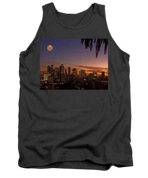 Moon Over L.a. Tank Top