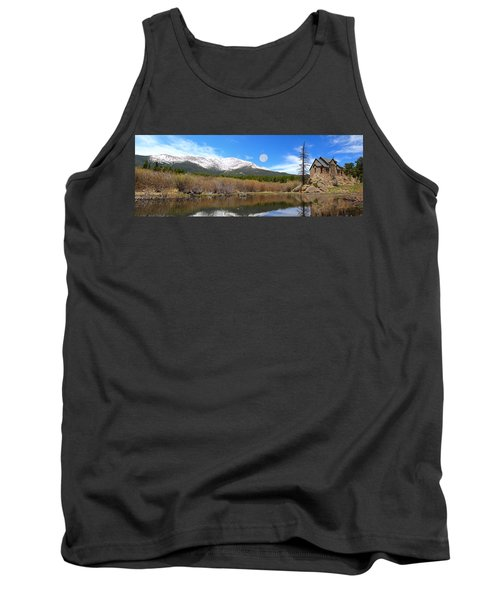 Moon Over St. Malo Tank Top