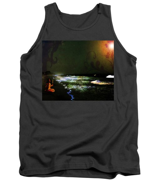 Moonlight Gives Girl Hope In The Darkness Tank Top