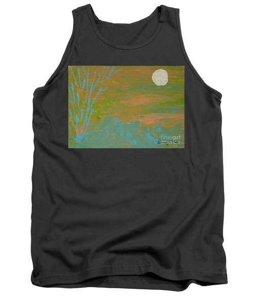 Moonlight In The Wild Tank Top