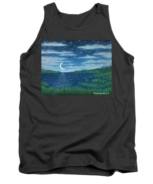Moonlit Lagoon Tank Top