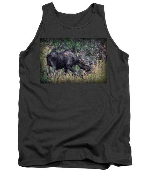 Moose In The Meadow Tank Top