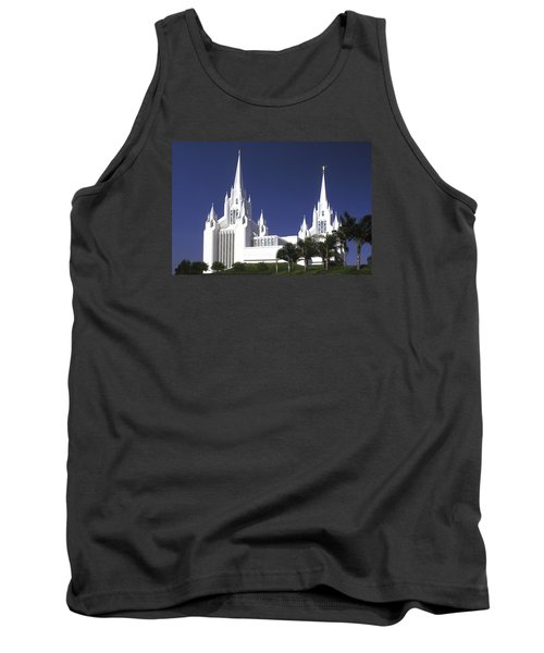 Mormon Temple Tank Top by Paul W Faust -  Impressions of Light