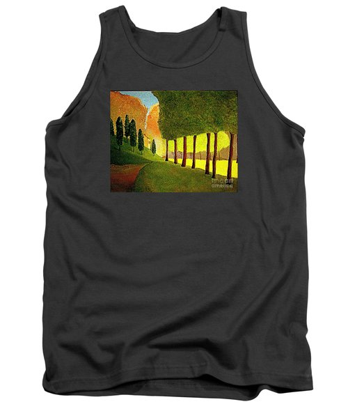 Chambord Morning By Bill O'connor Tank Top