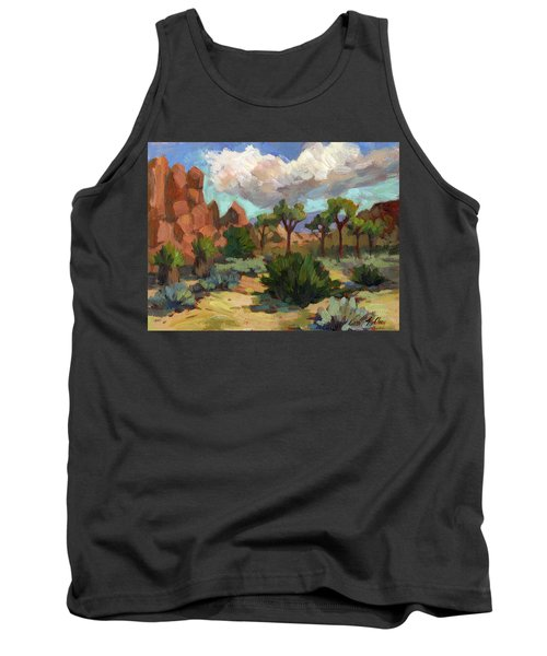 Morning At Joshua Tank Top