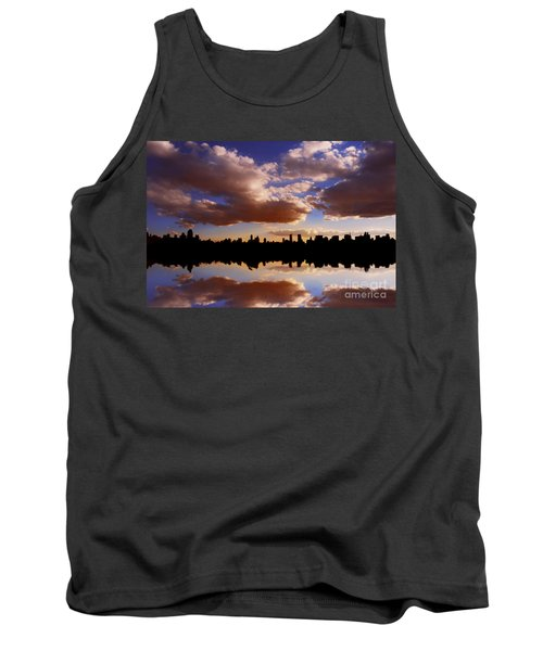 Morning At The Reservoir New York City Usa Tank Top