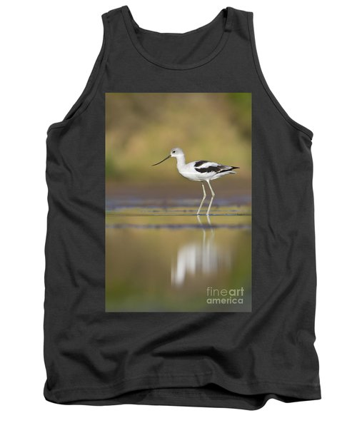 Tank Top featuring the photograph Morning Avocet by Bryan Keil