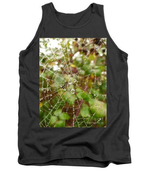 Tank Top featuring the photograph Morning Dew by Vicki Spindler