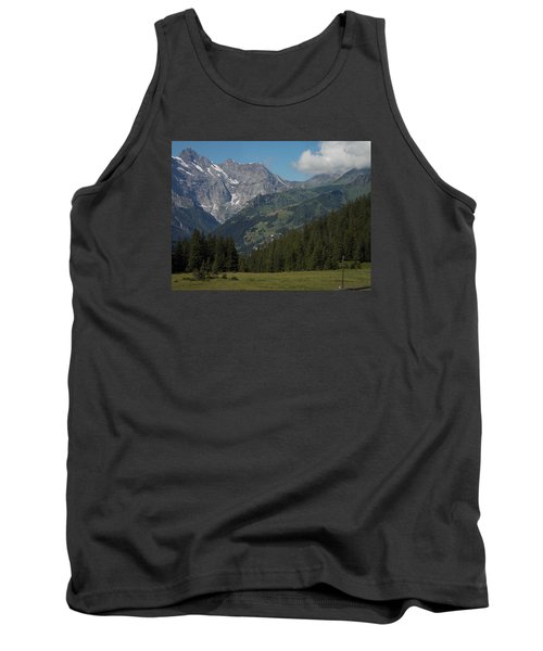 Morning In The Alps Tank Top