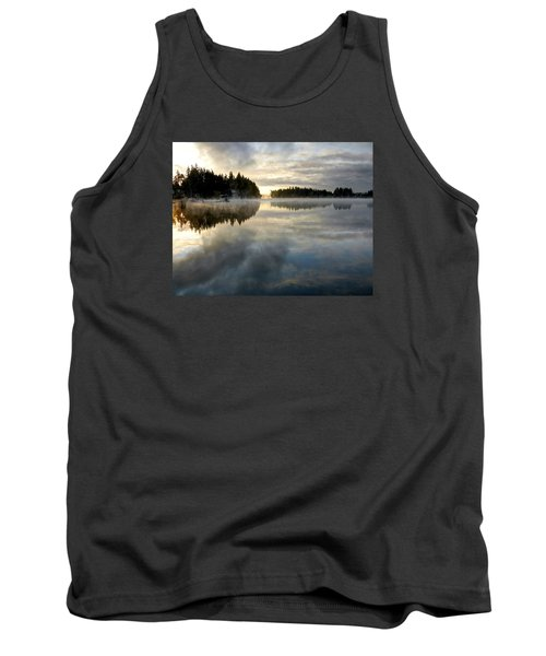 Morning Lake Reflection Tank Top