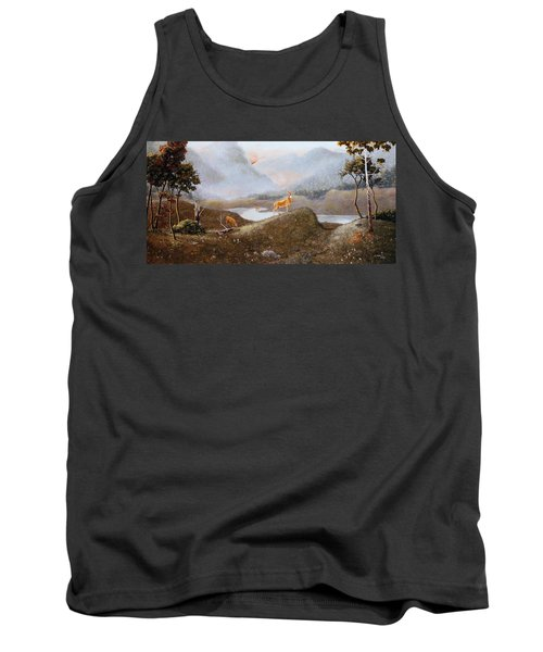 Morning Mist Tank Top by Duane R Probus