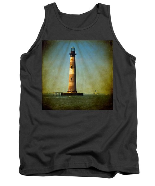 Morris Island Light Color Vintage Tank Top