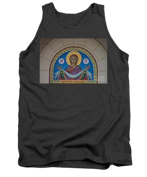Mother Of God Mosaic Tank Top