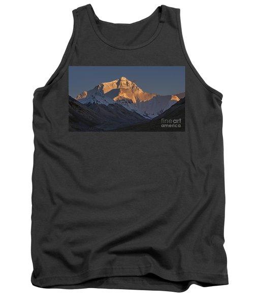 Mount Everest At Dusk Tank Top