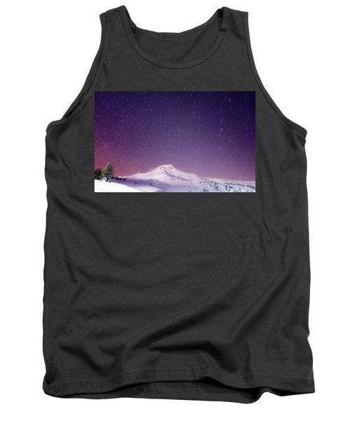 Mount Hood And Stars Tank Top