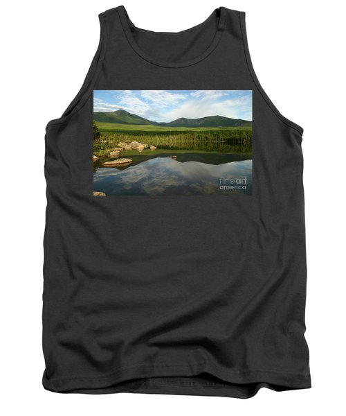 Tank Top featuring the photograph Mount Katahdin by Jeannette Hunt