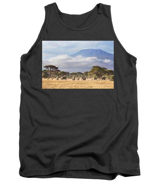 Mount Kilimanjaro Amboseli  Tank Top