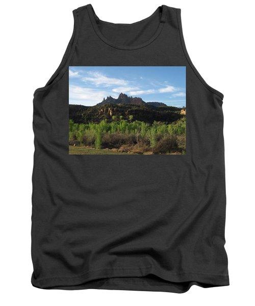 Mount Purple  Tank Top