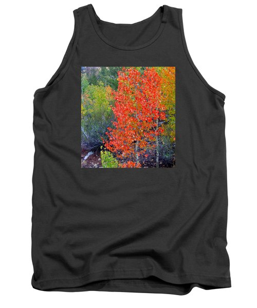 Tank Top featuring the photograph Mountain Color by Marilyn Diaz