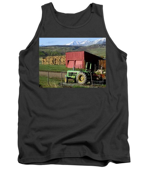 Mountain Living Tank Top by Fiona Kennard