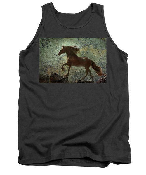 Mountain Majesty Tank Top by Melinda Hughes-Berland