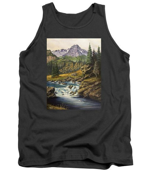 Mountain Of The Holy Cross Tank Top by Jack Malloch