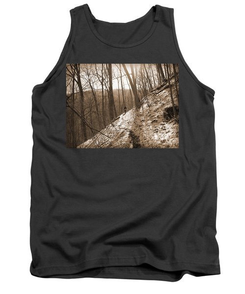 Mountain Side Tank Top by Melinda Fawver