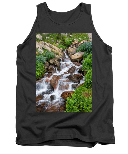Tank Top featuring the photograph Mountain Stream by Ronda Kimbrow