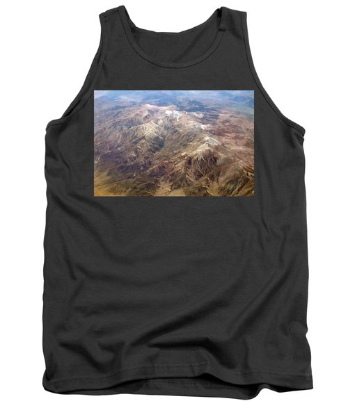 Tank Top featuring the photograph Mountain View by Mark Greenberg