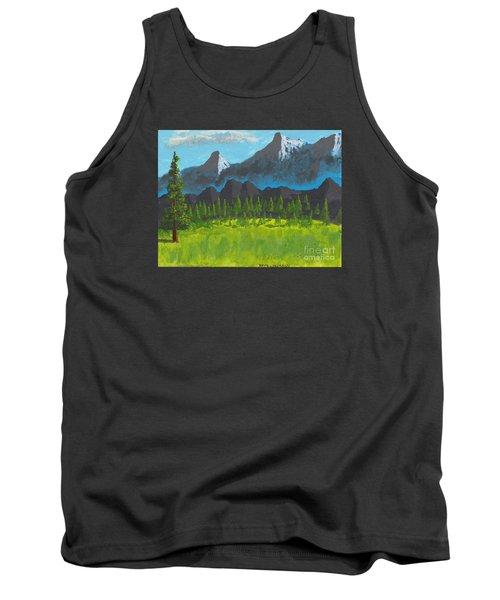 Mountain Vista Tank Top by David Jackson