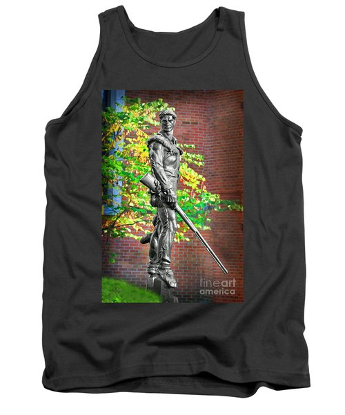 Mountaineer Statue Tank Top