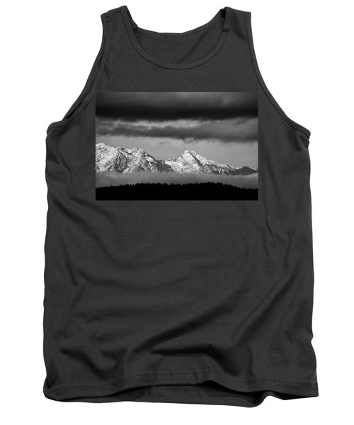 Mountains And Clouds Tank Top