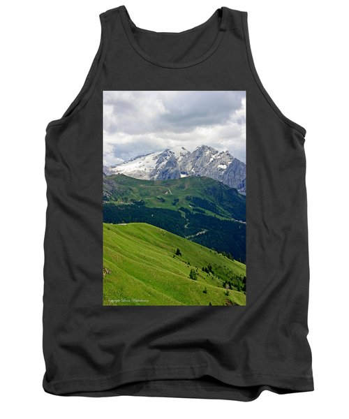 Mountains Tank Top by Leena Pekkalainen