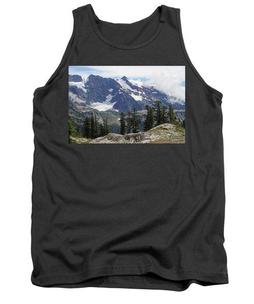 Mt Baker Washington View Tank Top by Tom Janca