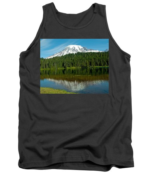 Tank Top featuring the photograph Mt. Rainier II by Tikvah's Hope