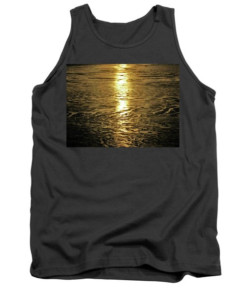 Tank Top featuring the photograph Muddy Reflection by Jeremy Rhoades