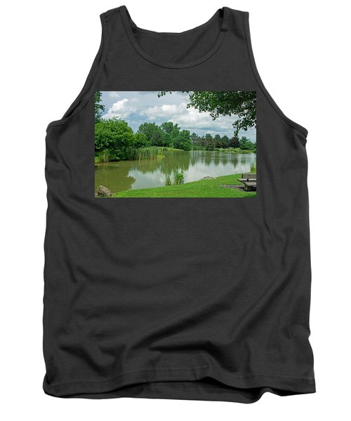 Muller Chapel Pond Ithaca College Tank Top