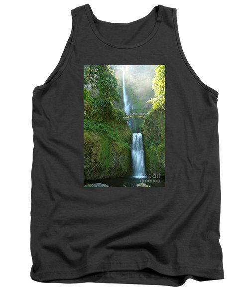 Multnomah Falls Tank Top by Christiane Schulze Art And Photography