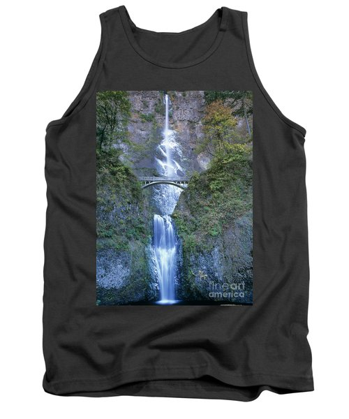 Multnomah Falls Columbia River Gorge Tank Top by Dave Welling