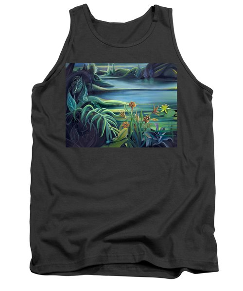 Mural Bird Of Summers To Come Tank Top