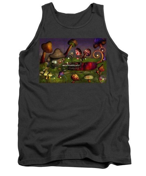 Mushroom - Deep In The Bayou Tank Top
