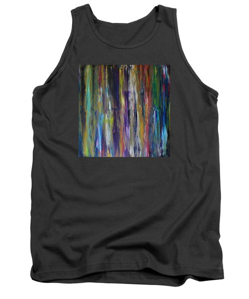 Tank Top featuring the painting Must First Survive Thyself by Michael Cross