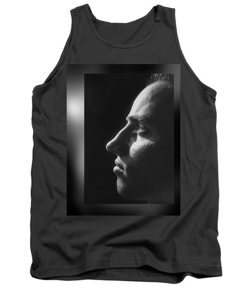 Tank Top featuring the photograph Just  Don' T  Smoke  by Hartmut Jager