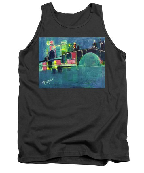 My Kind Of City Tank Top by Betty Pieper