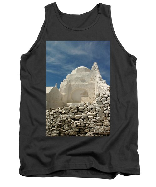 Mykonos Church Tank Top by Vivian Christopher