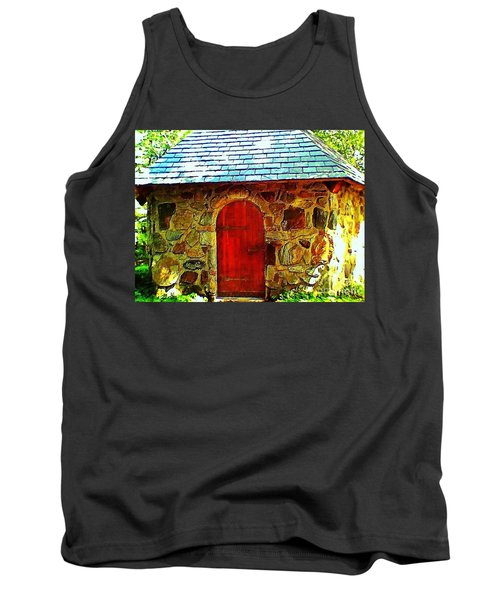 Myth And Mystical Chapel Tank Top by Becky Lupe