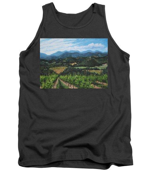 Napa Valley Vineyard Tank Top