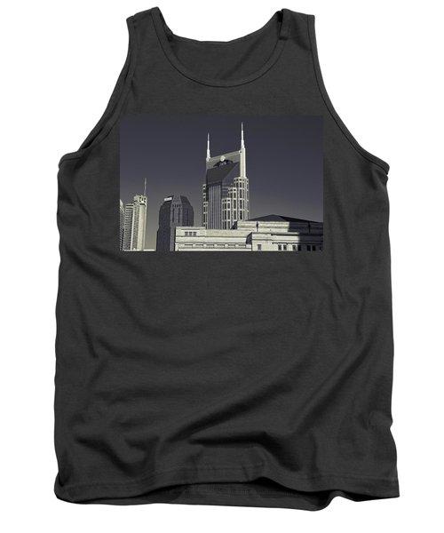 Nashville Tennessee Batman Building Tank Top