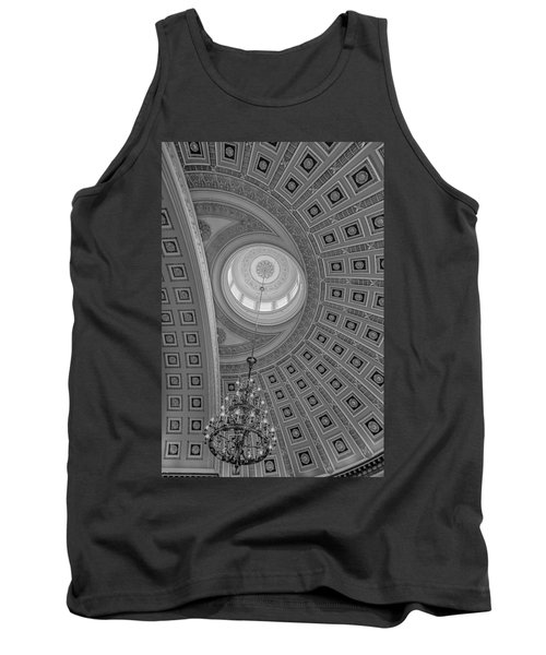 National Statuary Rotunda Bw Tank Top